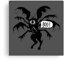 Quirky & Creepy Inc. - Boo! Canvas Print