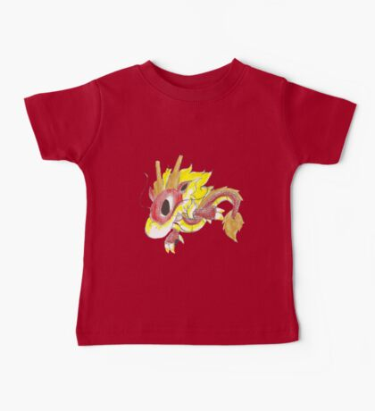 Playful Fire Hatchling Baby Tee
