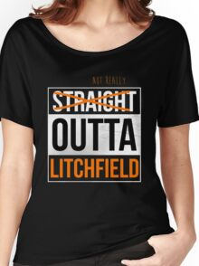 Straight Outta Litchfield | OITNB Women's Relaxed Fit T-Shirt