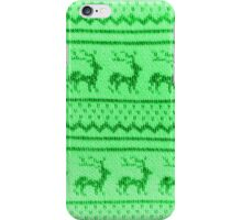 Ugly Christmas Sweater Pattern iPhone Case/Skin
