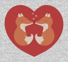 Lovers foxes. Baby Tee