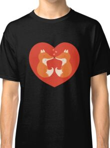 Lovers foxes. Classic T-Shirt