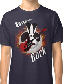 Badgers rock with text Classic T-Shirt