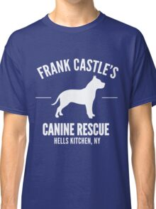 Frank Castle - Dog Rescue Classic T-Shirt