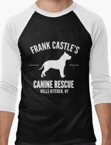 Frank Castle - Dog Rescue Men's Baseball ¾ T-Shirt