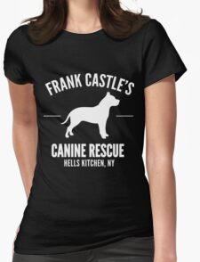 Frank Castle - Dog Rescue Womens Fitted T-Shirt