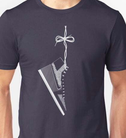 Hanging Shoe Unisex T-Shirt