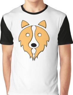 Solid Gold Border Collie Graphic T-Shirt
