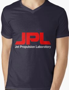 Jet Propulsion Laboratory (JPL) Logo for Dark Colors ONLY Mens V-Neck T-Shirt