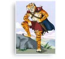 ..:: TigerWarrior ::.. Canvas Print