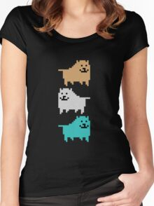 UNDERTALE - DOG Women's Fitted Scoop T-Shirt