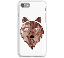 Solid Red Merle Border Collie iPhone Case/Skin
