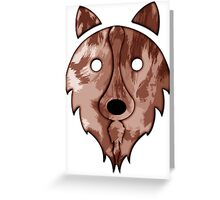 Solid Red Merle Border Collie Greeting Card