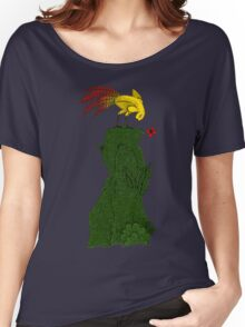 Mythical bird on Mountain top Women's Relaxed Fit T-Shirt
