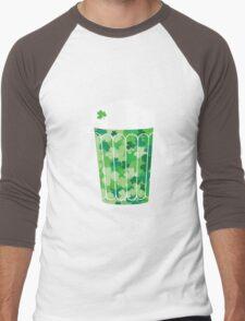 Clover Beer Men's Baseball ¾ T-Shirt