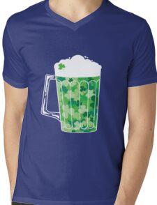 Clover Beer Mens V-Neck T-Shirt