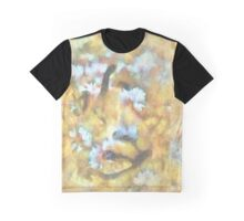 Sulley Watercolor and Ink Abstract Graphic T-Shirt