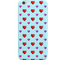 Cutesy Pixel Hearts! iPhone Case/Skin