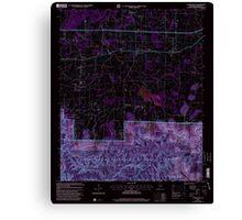 USGS TOPO Map Alabama AL Landersville 304361 2000 24000 Inverted Canvas Print