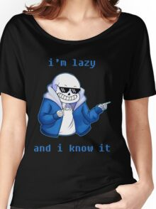 Lazy and I know it Women's Relaxed Fit T-Shirt