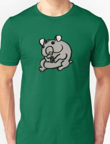 Hungry Hamster Unisex T-Shirt