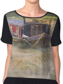 Home is on the mud Chiffon Top