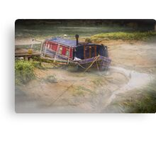 Home is on the mud Canvas Print