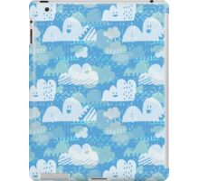 Funny Little Clouds iPad Case/Skin
