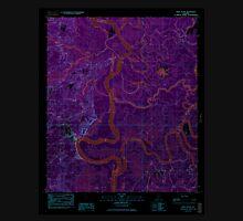 USGS TOPO Map Alabama AL Bilbo Island 654274 1983 24000 Inverted Unisex T-Shirt