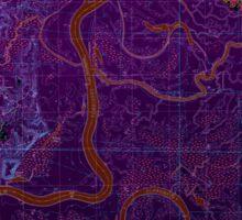 USGS TOPO Map Alabama AL Bilbo Island 654274 1983 24000 Inverted Sticker