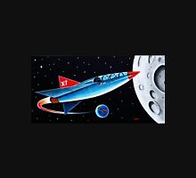 X-7 MOON ROCKET Unisex T-Shirt