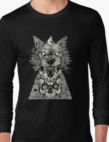 Shape Shift Black Long Sleeve T-Shirt