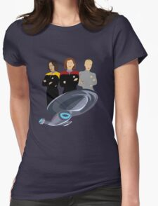 Girls Just Wanna Explore Uncharted Parts Of The Galaxy Womens Fitted T-Shirt