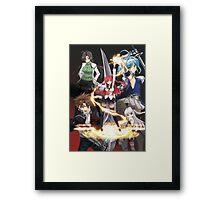 Shinmai Maou no Testament Manga Framed Print