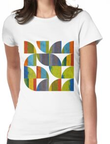 Quarter Rounds 1.0 Womens Fitted T-Shirt