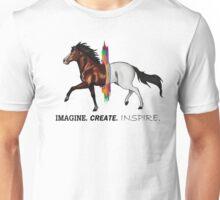 Imagine. Create. Inspire.  Unisex T-Shirt