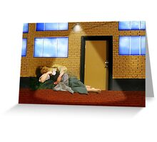 Under the Night Light Greeting Card