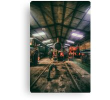 The Restoration Shed Canvas Print