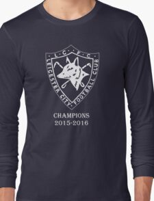 LEICESTER CITY OLD LOGO CHAMPIONS. Long Sleeve T-Shirt