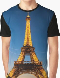 Eiffel Tower and sunset Graphic T-Shirt