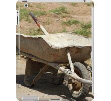 Construction Wheelbarrow iPad Case/Skin