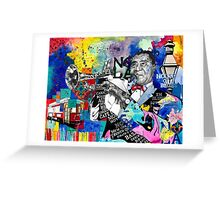The Sound of New Orleans Greeting Card