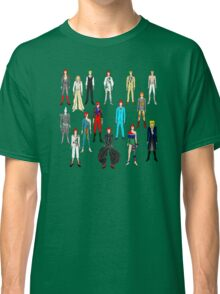 Bowie Scattered Fashion Classic T-Shirt