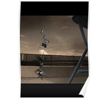 Acrobatic Chairs Poster