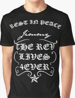 Rev lives foREVer black Graphic T-Shirt