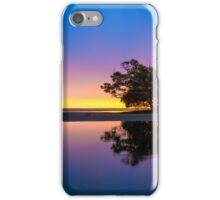 Sunrise Tree and Water Reflections iPhone Case/Skin