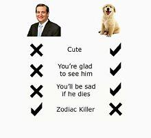 Ted Cruz Zodiac Killer Unisex T-Shirt