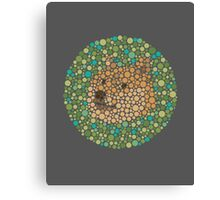 Such Color Blind Wow Doge See – Prints & Posters Canvas Print