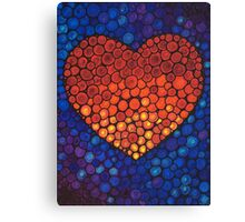 Healing Heart Art Sharon Cummings Canvas Print
