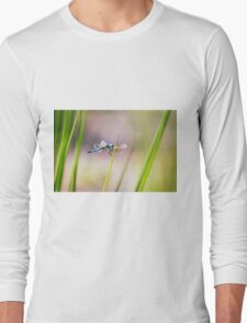 Dragonfly by Pond #1  Long Sleeve T-Shirt